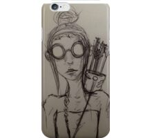 All Her Own iPhone Case/Skin