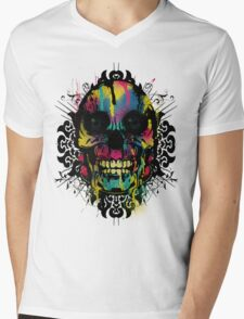 Better Colour Than Dead - Collaboration Mens V-Neck T-Shirt