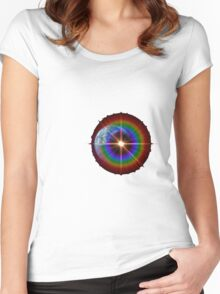 Lonely Star or Planet Earth? Women's Fitted Scoop T-Shirt