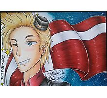 Denmark drawing Photographic Print