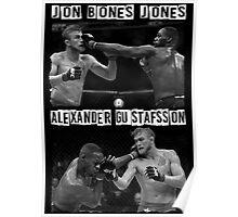 Jon Jones Vs Alexander Gustafsson Poster