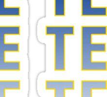 The Team - Bo Schembechler Sticker
