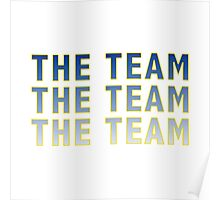 The Team - Bo Schembechler Poster
