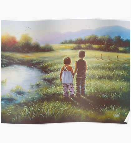 COUNTRY KIDS Poster