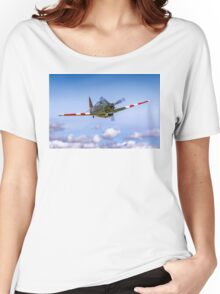 EFW D-3801 J-143 HB-RCF in flight Women's Relaxed Fit T-Shirt