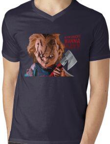 Chucky Mens V-Neck T-Shirt