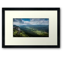 French Valley Framed Print