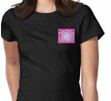 Rising of light on Ruby World Womens Fitted T-Shirt