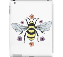 Bumblebee and Flower Blossoms iPad Case/Skin