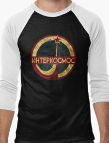 CCCP Interkosmos V02 Men's Baseball ¾ T-Shirt