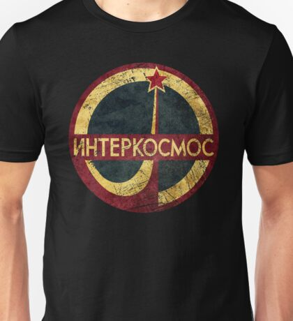 CCCP Interkosmos V02 Unisex T-Shirt