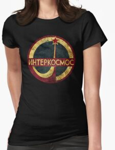 CCCP Interkosmos V02 Womens Fitted T-Shirt