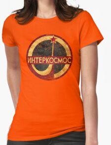 CCCP Interkosmos V02 Womens Fitted T-Shirt