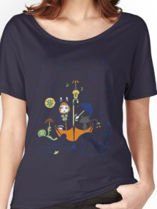 Friends and Rain by Lolita Tequila Women's Relaxed Fit T-Shirt