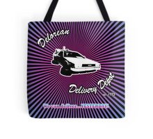 Delorean Delivery Depot Tote Bag