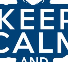 Keep Calm and Clint On: Funny Hillary Clinton Sticker