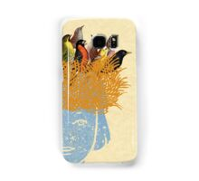 Bird nest head Samsung Galaxy Case/Skin