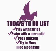 Today's To Do List by spookydooky