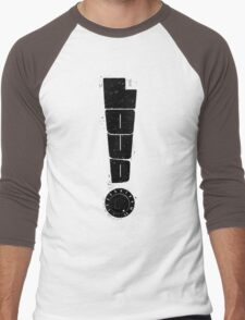 Loud! Typography Series Men's Baseball ¾ T-Shirt