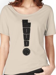 Loud! Typography Series Women's Relaxed Fit T-Shirt