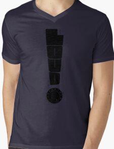Loud! Typography Series Mens V-Neck T-Shirt