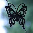 Butterfly Wind Chime by Jokaylena Leonard
