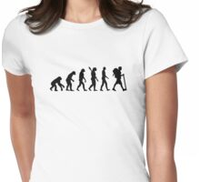 Evolution Hiking Womens Fitted T-Shirt