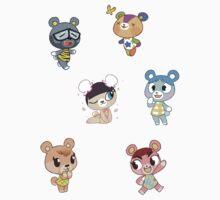 Animal Crossing - Cub Set 1 by JimHiro