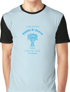 French Vintage Grain Sack  Graphic T-Shirt