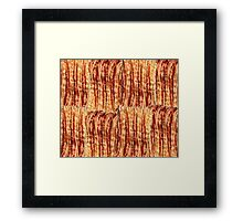 Bacon Breakfast Framed Print
