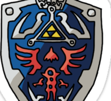 Legend Of Zelda - Sword&Shield  Sticker