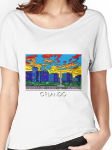 Orlando Pride Cityscape Women's Relaxed Fit T-Shirt