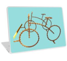 chain bicycle Laptop Skin
