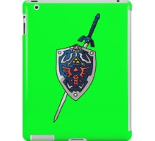 Legend Of Zelda - Sword&Shield  iPad Case/Skin
