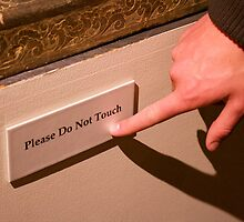 Please Do Not Touch by Cristy Hernandez