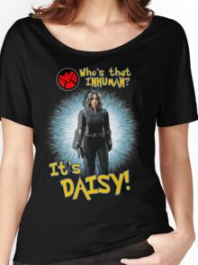 Who's That Inhuman? It's Daisy! Women's Relaxed Fit T-Shirt