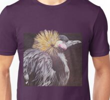 The Golden Crowned Crane Unisex T-Shirt