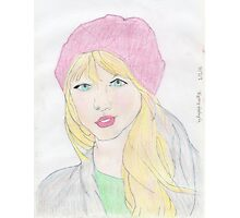 Drawing Of Taylor Swift Photographic Print