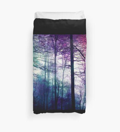 Tie Dye Forest Duvet Cover