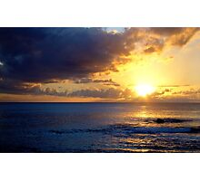 Easter Island Sunset Photographic Print