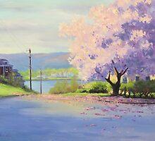 Urban Magnolia by Karen Ilari