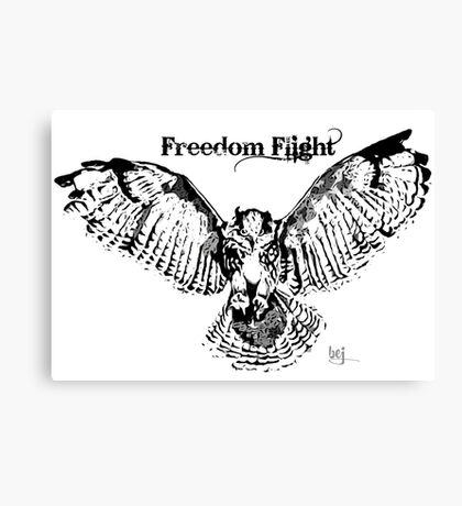Freedom Flight (redo) Canvas Print