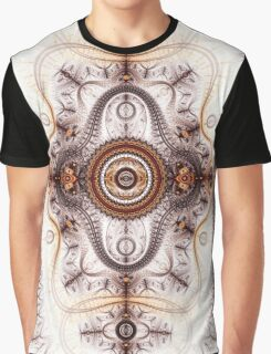 Time machine - Abstract Fractal Artwork Graphic T-Shirt