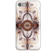 Time machine - Abstract Fractal Artwork iPhone Case/Skin