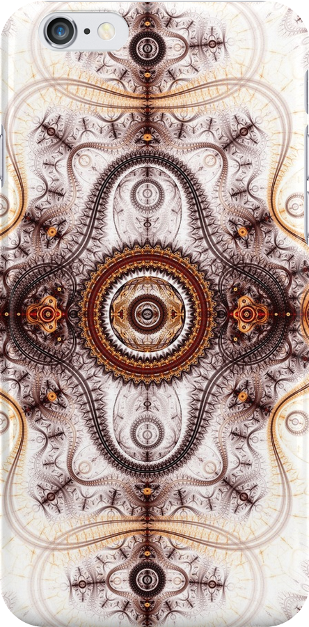 Time machine - Abstract Fractal Artwork by EliVokounova