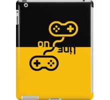 gaming online controller or joystick controller buttons iPad Case/Skin