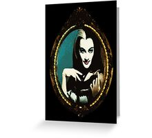 Framed Lily Munster Greeting Card