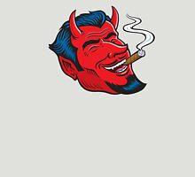 Laughing Devil Smoking Cigar Unisex T-Shirt