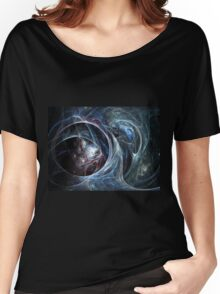 Spider's cave - Abstract Fractal Artwork Women's Relaxed Fit T-Shirt