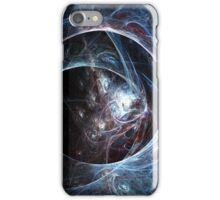 Spider's cave - Abstract Fractal Artwork iPhone Case/Skin